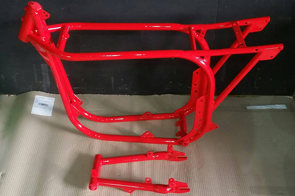 An image of a metal buggy we powder coated